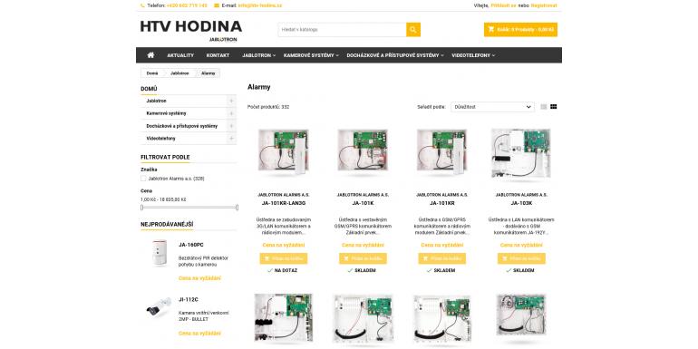 Vítejte v našem novém internetovém obchodě!
